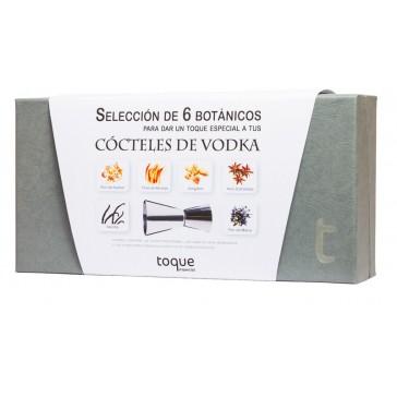 6 botánicos coctelería Vodka
