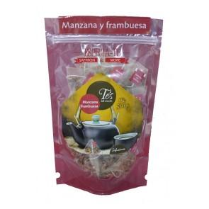 Té de manzana y frambuesa 40 pirámides de té