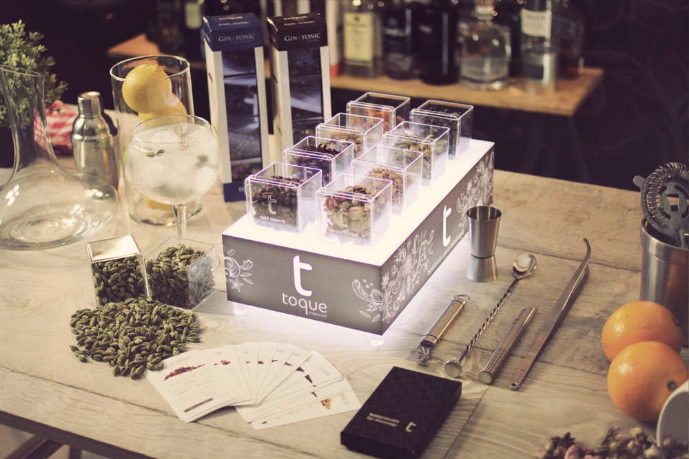 set gin tonic y coctelería profesional