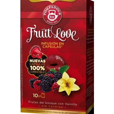 Infusión cápsulas Fruit Love Pomapour