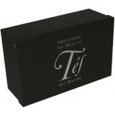 Caja negra 12 Tés del Mundo. Degustación Bio & Frutas