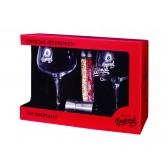 Pack Premium 2 Copas para Gin Tonic, Medidor y 2 Especias