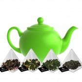 Té verde Degustación Sabores en 15 Pirámides de Té